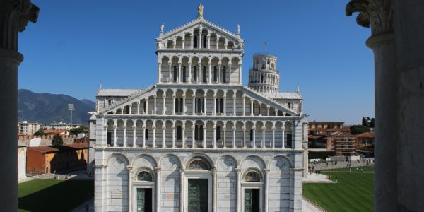 Cathedral Leaning Tower Pisa